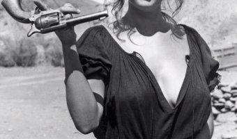 Claudia Cardinale. Spanish Western